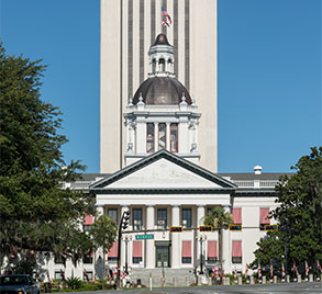 New Capitol Building in Tallahassee